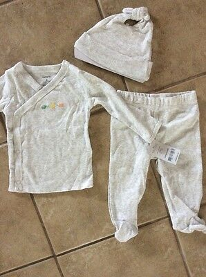 Infant Boys Outfit 3 Piece Set 3-6 Months. New Carter's Brand