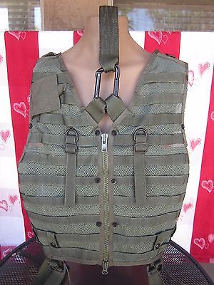 CMU-33A MOLLE Survival Vest w STABO Extraction Rescue Harness, Unissued