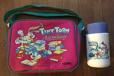 Tiny Toon Adventures Thermos Insulated Soft Lunch Kit With Lunch Bag And Bottle
