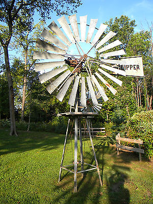 Freeman Windmill, 8ft Acme Steel Clipper w/ tower, possible delivery