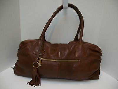Hobo International Hobo Purse Shoulder Bag Brown Leather