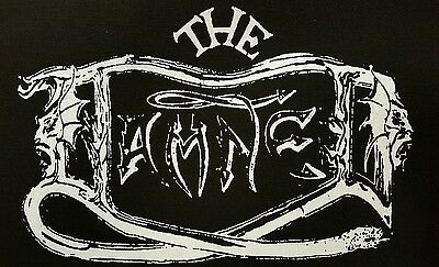 The Damned Punk Rock Black Canvas Back Patch