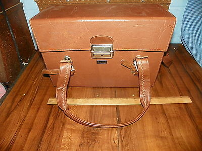Vintage MARSAND Leather Camera Case