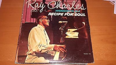Ray Charles-Ingredients in a Recipe For Soul ABC 465 LP Vinyl Record