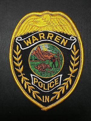 Warren Indiana  Police   Shoulder  Patch