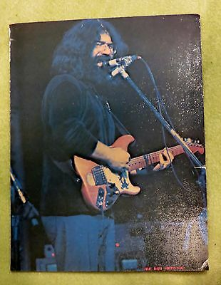 "JERRY GARCIA - Original 1973 RISING SIGNS Picture Poster Card #110 - 8.5"" X 11"""