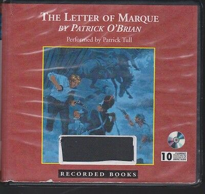 THE LETTER OF MARQUE by PATRICK O'BRIAN~UNABRIDGED CD AUDIOBOOK