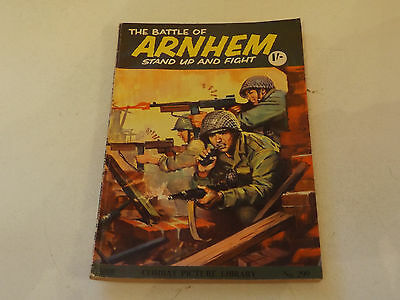 COMBAT PICTURE LIBRARY,NO 299,1960`S ISSUE,GOOD FOR AGE,48 yrs old,RARE COMIC.