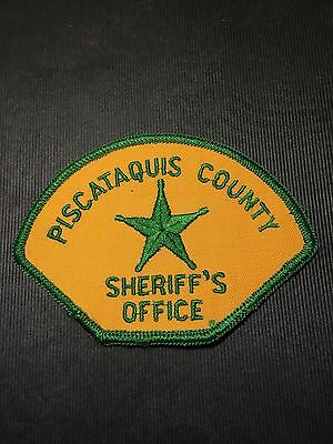 Piscataquis  County Maine  Sheriff Shoulder Patch