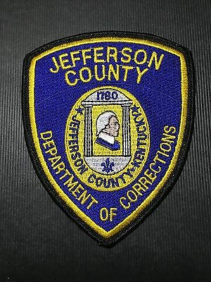 Kentucky  Jefferson County Corrections  Shoulder Patch