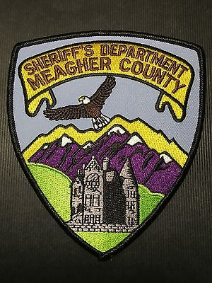 Meagher County  Montana Sheriff  Shoulder Patch