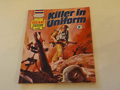 VALIANT PICTURE LIBRARY,NO 48,1965 ISSUE,GOOD FOR AGE,52 yrs old,V RARE COMIC.