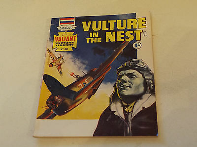 VALIANT PICTURE LIBRARY,NO 60,1965 ISSUE,GOOD FOR AGE,52 yrs old,V RARE COMIC.