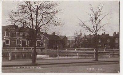 Thornton Heath Pond, Surrey C.H. Price RP Postcard B746