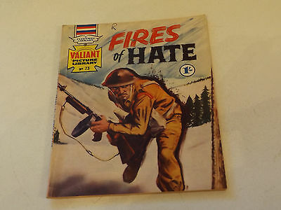 VALIANT PICTURE LIBRARY,NO 73,1966 ISSUE,GOOD FOR AGE,51 yrs old,V RARE COMIC.