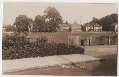The Green Mitcham, Surrey RP Postcard B746