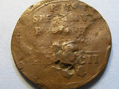 old large token very worn - 34mm Dia -