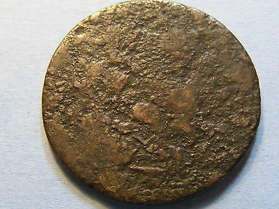 Coin/  token very worn - 29mm Dia -