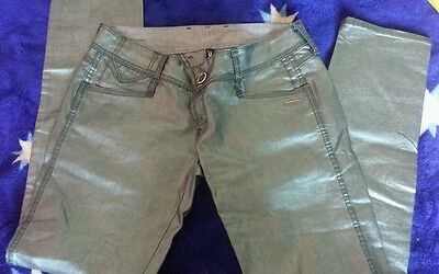 """Punk metal trousers from Gang size 30"""" (12-14)"""