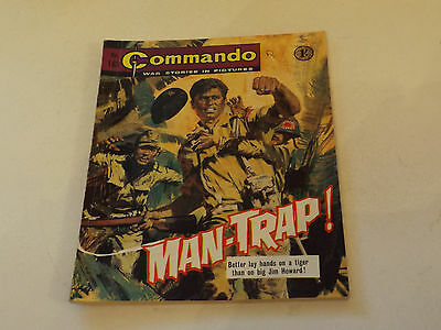 Commando War Comic Number 183!!,1965,v Good For Age,52 Years Old Issue,v Rare.