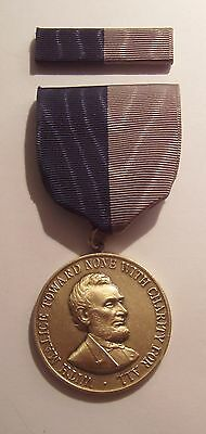Army Civil War Campaign Military Medal with RIBBON