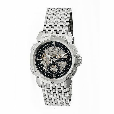 Heritor Heritor Automatic Carter Mens Watch, Silver HERHR2502