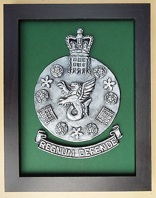 Large Scale Framed MILITARY INTELLIGENCE SECTION 5 - MI5 - Badge Plaque