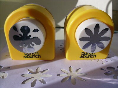 Punch Bunch Paper Punches - Large Splat and Large Flower