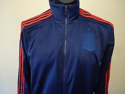 Spain  Official Adidas  Track Jacket Mens Large New