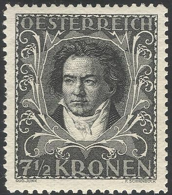 Austria 1922 Beethoven/Composers/Music/People/Entertainment 1v (n43678)