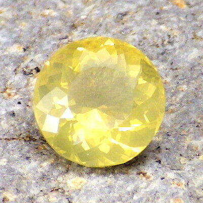 FIRE OPAL-OREGON 2.04Ct FLAWLESS-NATURAL YELLOW GOLD COLOR-FOR JEWELRY!