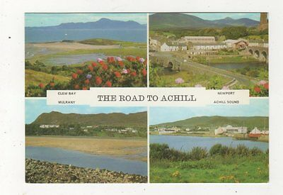 The Road To Achill Ireland 1982 Postcard 876a