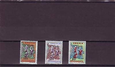a121 - ANGOLA - SGC643-C645 MNH 1965 CHARITY TAX STAMPS