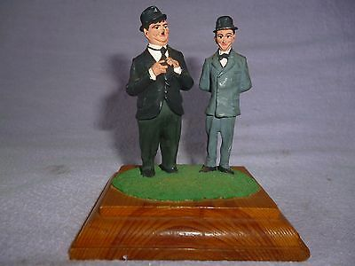 Vintage Laurel And Hardy Lead Figure S Figurines Ornament From Tv Dvd Film Shows