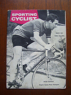Vintage ' Sporting Cyclist ' Cycling Magazine March 1967 Issue Excellent Cond