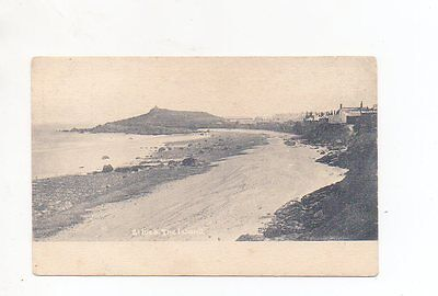 Old Postcard St Ives The Island Cornwall