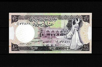 Syria 1982  UNC  10 Pounds  Series .See scan.