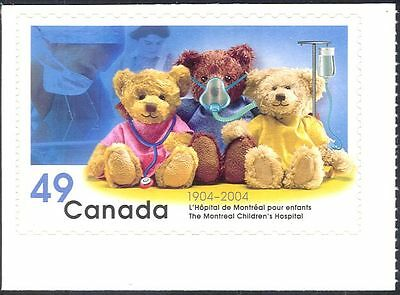 Canada 2004 TEDDY BEARS/Children's Hospital/Nurses/Nursing/Toys 1v s/a (n12357a)