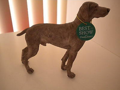 COUNTRY ARTISTS Weimaraner  Dog Figurine BEST IN SHOW  02240
