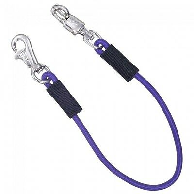 "Tough 1 29"" Purple Bungee Trailer Ties horse tack equine 52-984"