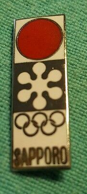 1972 Sapporo Japan Olympic National Olympic NOC pin