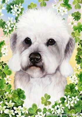 Large Indoor/Outdoor Clover Flag - Pepper Dandie Dinmont Terrier 31211