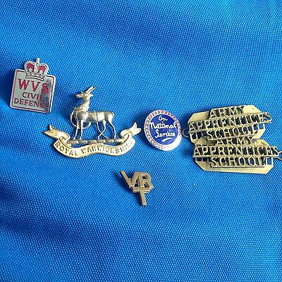 WW2 Selection of 6 Badges
