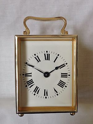 Antique Silver Cased Carriage Clock