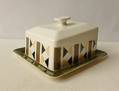 Beswick Cheese/ Butter Dish in the Metric Pattern