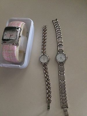 Job Lot Of Three Watches GC