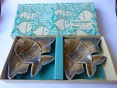 Wade Aqua Dishes With Original Box