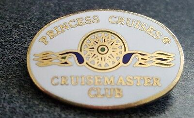 Princess Cruises Cruise ship Cruisemaster Club pin