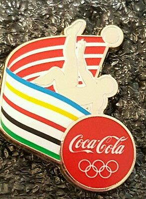2016 Rio Olympic COCA COLA COKE FOOTBALL  SPORTS  pin