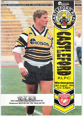 Castleford v Workington 1994/5